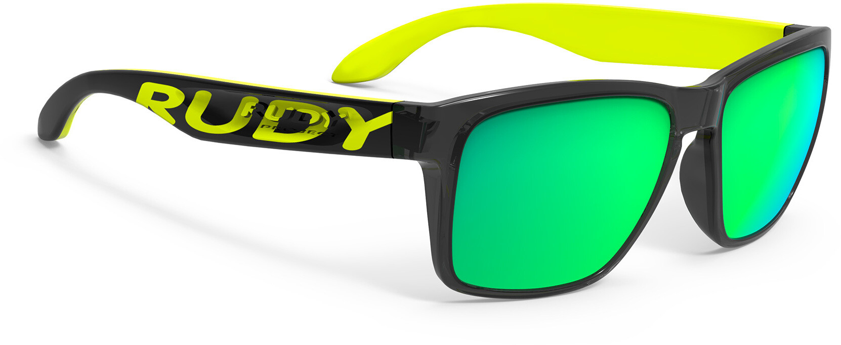 Rudy Project Spinhawk Loud Sunglasses crystal ash yellow fluo rp optics multilaser lime